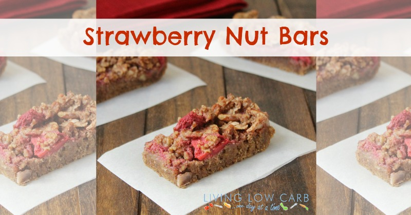 Strawberry Nut Bars