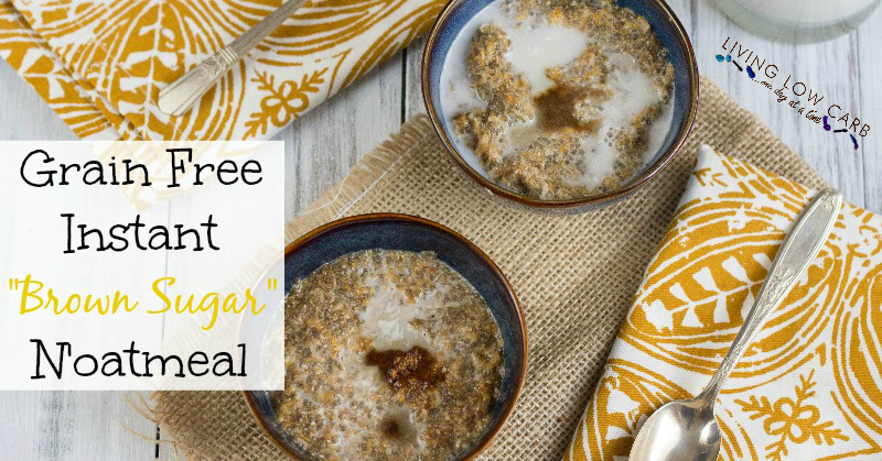 "Grain Free Instant ""Brown Sugar"" N'oatmeal"