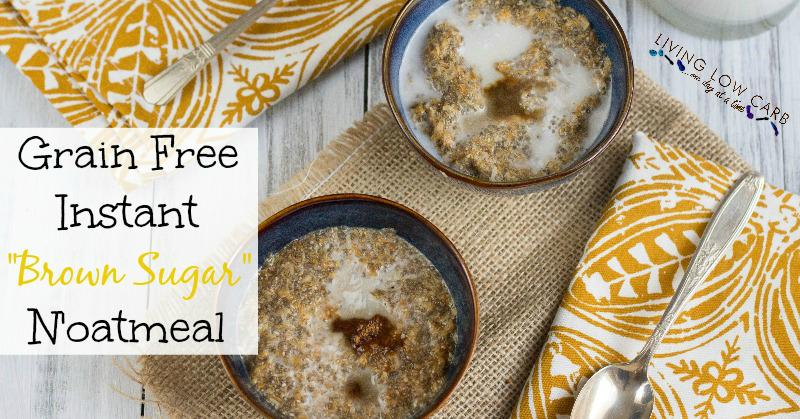 "Grain Free Instant ""Brown Sugar"" N'oatmeal - Holistically Engineered"