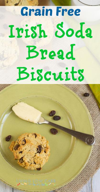 Grain Free Irish Soda Bread Biscuits | holistically.wpengine.com