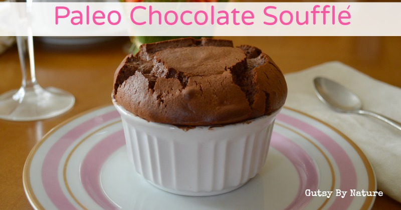 Paleo Chocolate Souffle | holistically.wpengine.com