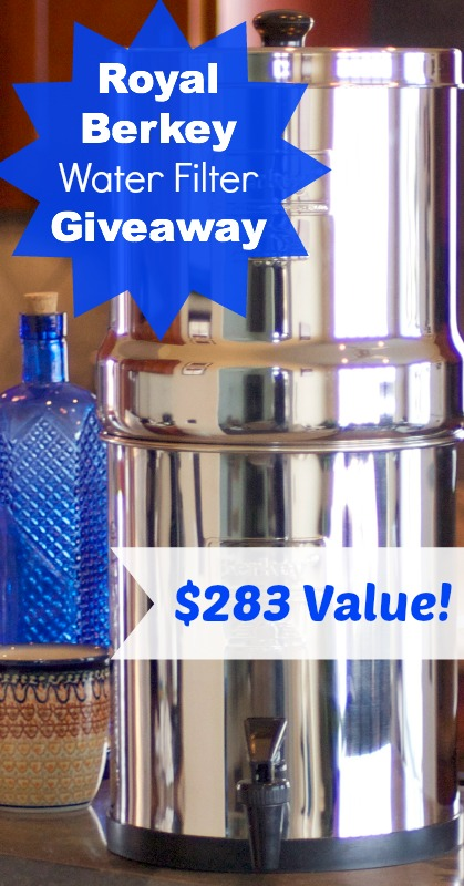 Royal Berkey Water Filter Giveaway