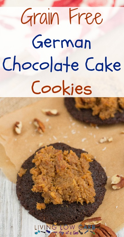 Grain Free German Chocolate Cake Cookies | holistically.wpengine.com