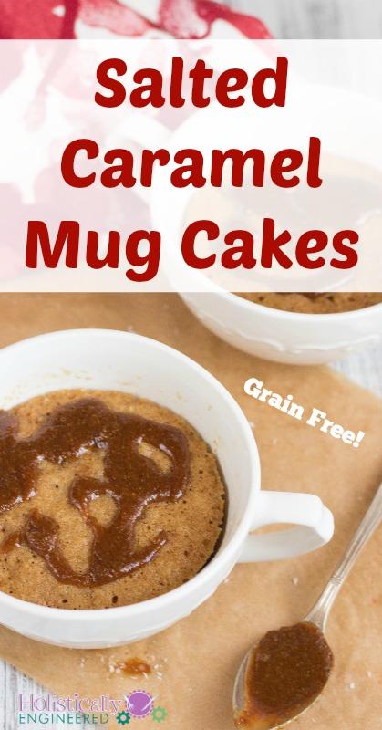 Grain Free Salted Caramel Mug Cake_