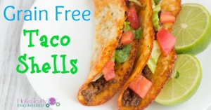 Grain Free Taco Shells (Naturally Low Carb)