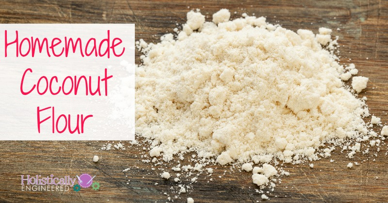 How To Make Coconut Flour | holisticallyengineered.com #grainfree #paleo #lowcarb