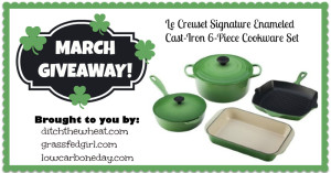 March Giveaway–6-Piece Cast Iron Cookware Set–$600 value