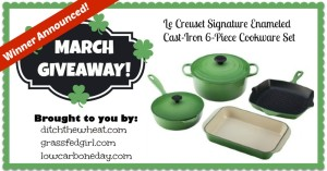 March Giveaway Winner Announced