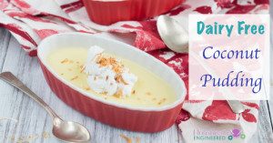 Dairy Free Coconut Pudding