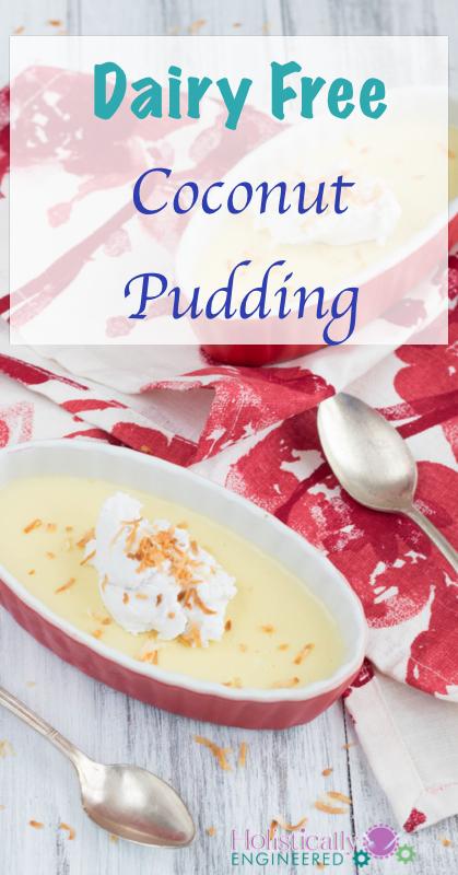 Dairy Free Coconut Pudding   holisticallyengineered.com #paleo #dairyfree #lowcarb