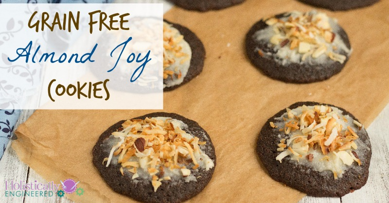 Grain Free Almond Joy Cookies