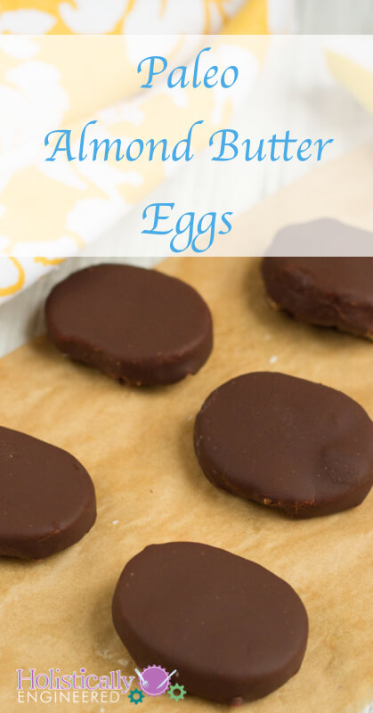 Paleo Almond Butter Eggs