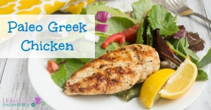 Paleo Greek Chicken