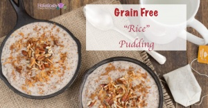 "Cinnamon ""Rice"" Breakfast Pudding"