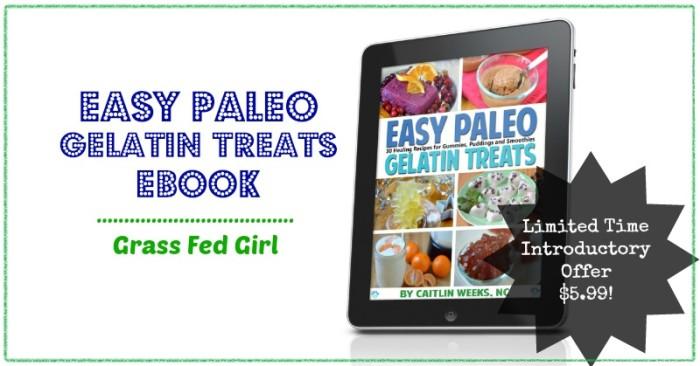 Paleo Gelatin Desserts
