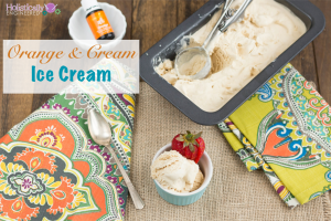 Orange & Cream Ice Cream (Low Carb and Paleo)