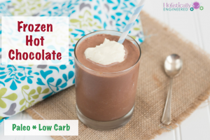 Frozen Hot Chocolate (Paleo and Low Carb)