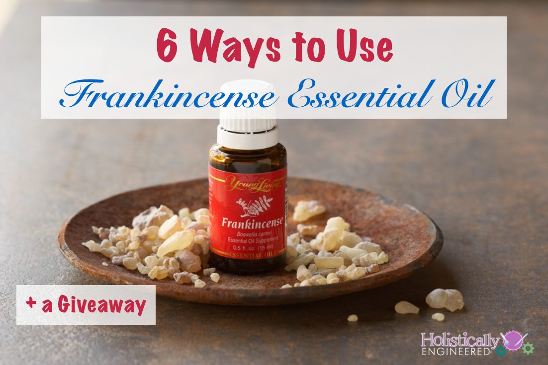 Ways to Use Frankincense Essential Oil