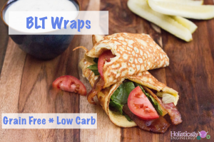 BLT Wraps (Grain Free and Low Carb)