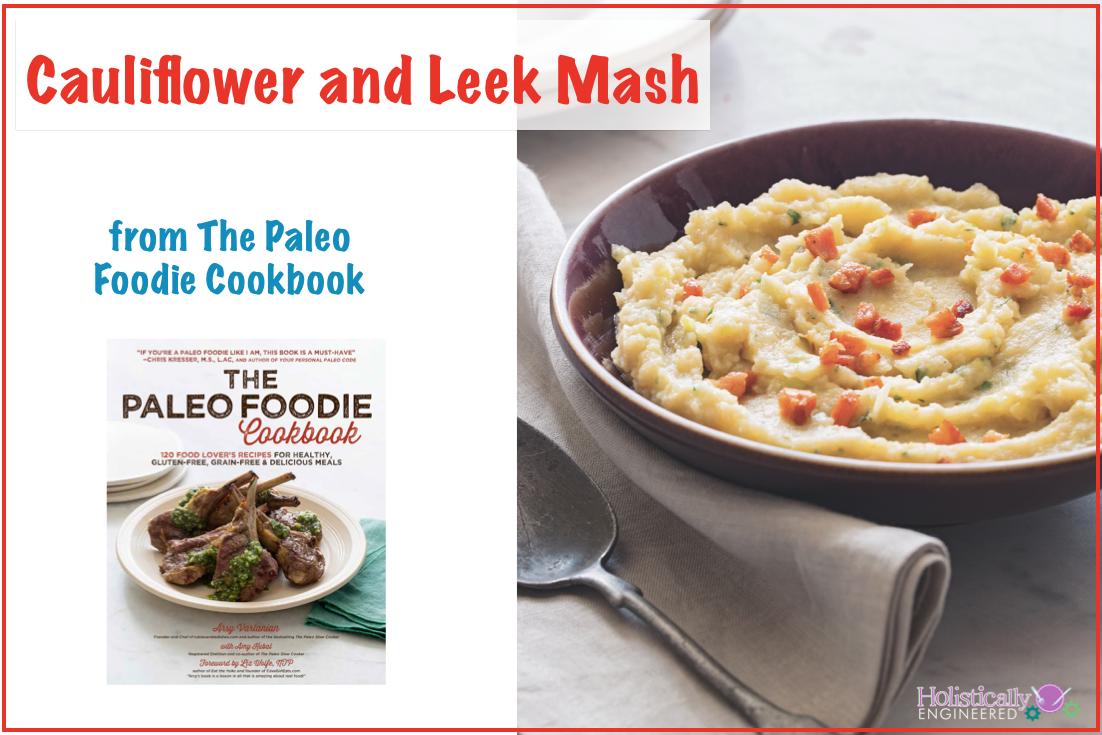 Paleo Cauliflower and Leek Mash