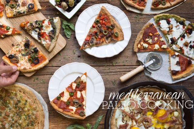 Mediterranean Paleo Cooking Pizza