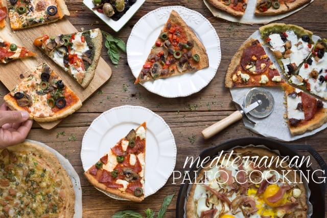 Mediterranean Paleo Cooking Pizza