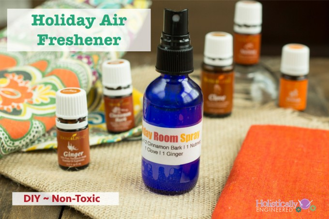DIY Essential Oil Holiday Air Freshener