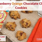 Paleo Cranberry Orange Chocolate Chip Cookies |Holistically Engineered