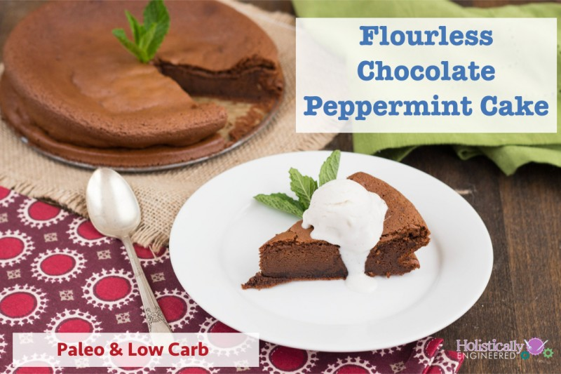 Flourless Chocolate Peppermint Cake (Paleo and Low Carb ...