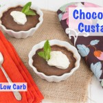 Paleo Chocoalte Custard and low carb