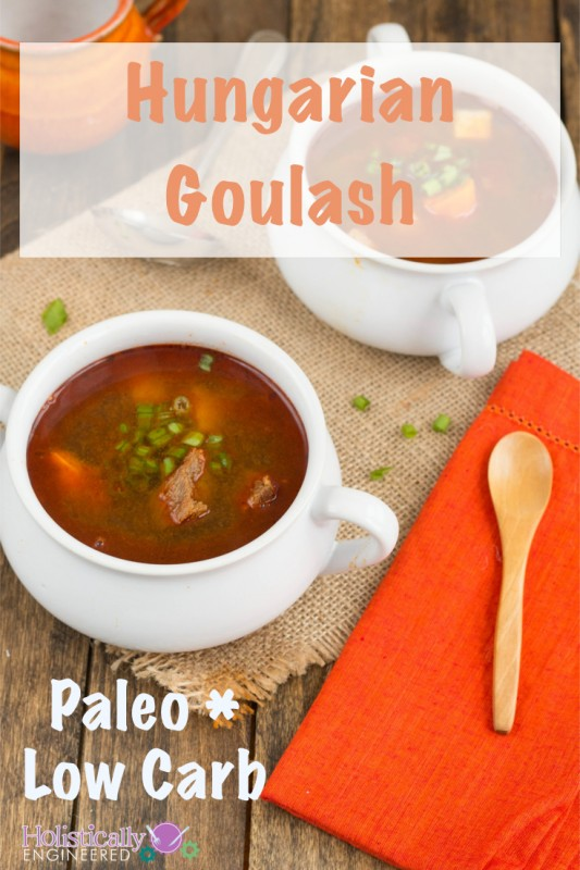 Paleo Hungarian Goulash | low FODMAP