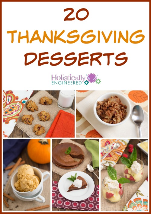 Low Carb and Paleo Thanksgiving Desserts