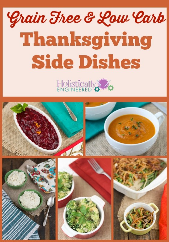 Low Carb and Paleo Thanksgiving Side Dishes
