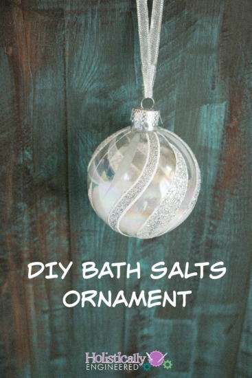 DIY Bath Salts Ornament
