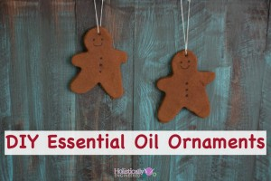 DIY Essential Oil Ornaments
