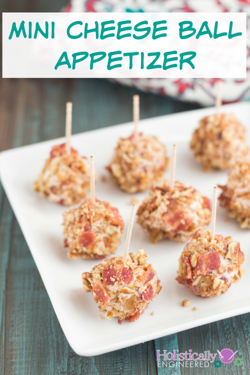 Low Carb Mini Cheese Ball Appetizer