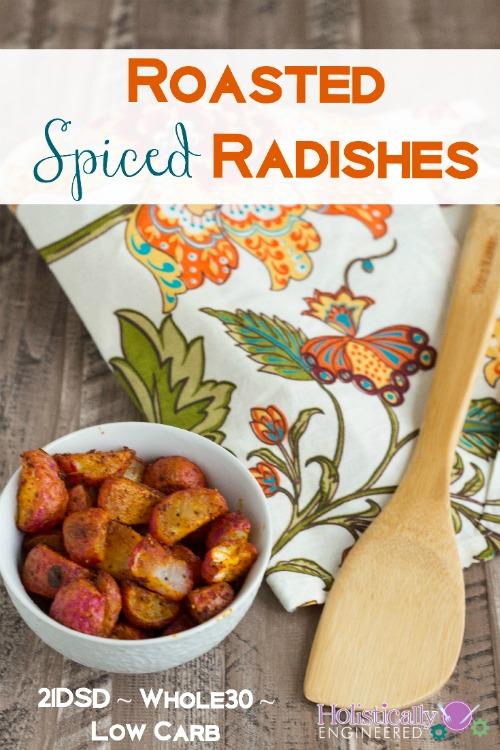 Paleo Roasted Spiced Radishes_