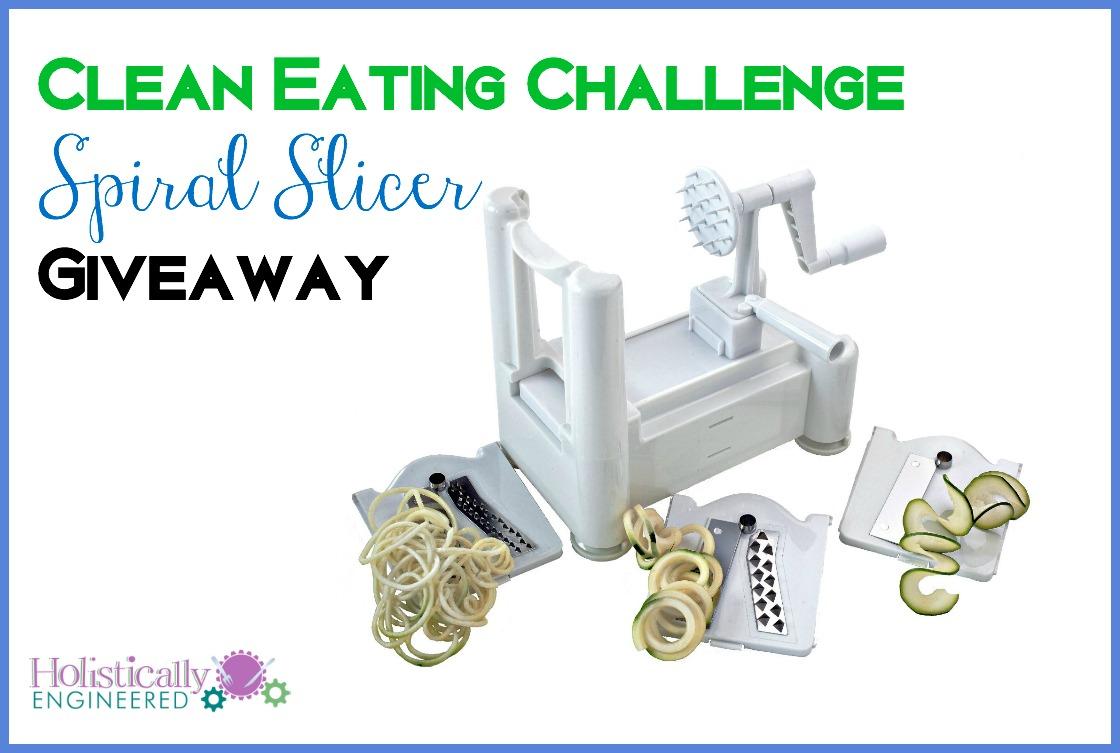 Spiral Slicer Giveaway