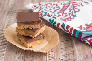 Caramel Nut Butter Bars (Paleo and Low Carb Options)