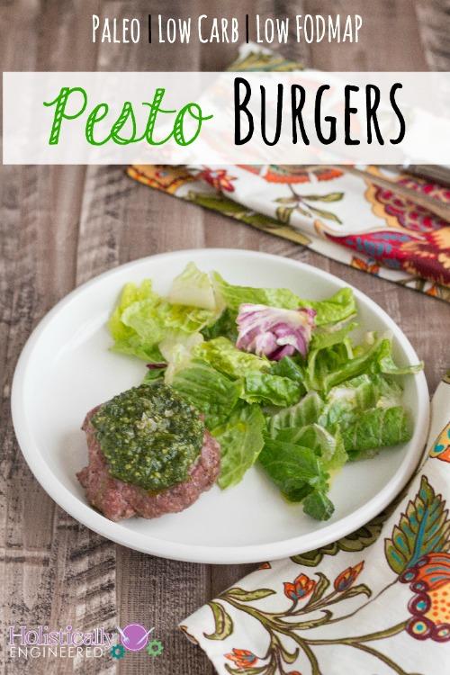 Paleo Pesto Burgers_