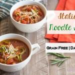 Paleo Italian Noodle Soup