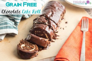 Chocolate Cake Roll (Grain Free)