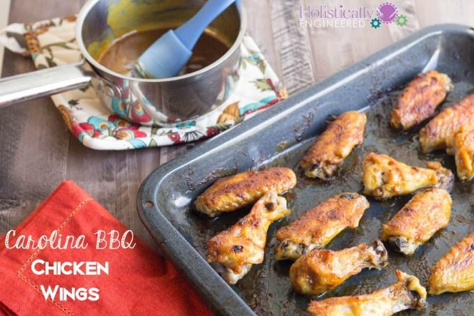 paleo Carolina barbecue chicken wings