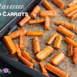 paleo Mediterranean  Spiced Carrots