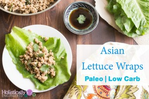 Asian Lettuce Wraps (Paleo and Low Carb)