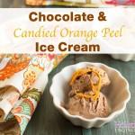 Paleo_Chocolate and Candied Orange Peel Ice Cream