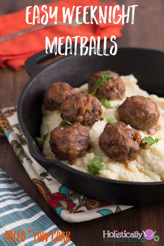 Paleo Low Carb Meatballs_