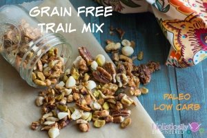Grain Free Trail Mix (Paleo and Low Carb)
