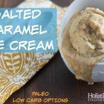 Paleo Salted Caramel Ice Cream