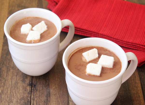 Low Carb Peppermint Hot Chocolate Dairy Free